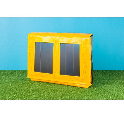 Recycled Material Solar Bag - e-shop: www.swiss-choice.com - BSA Distributor
