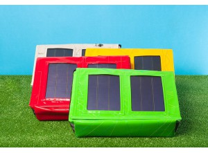 Solartaschen und Solarrucksäcke