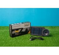 caricabatterie solare per auto